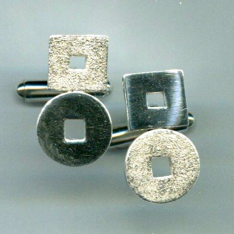 Gemelli argento e oro - Stagni