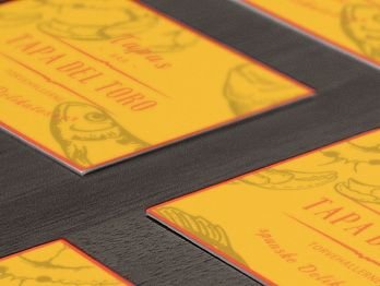 Identity for spanish tapas bar and deli.