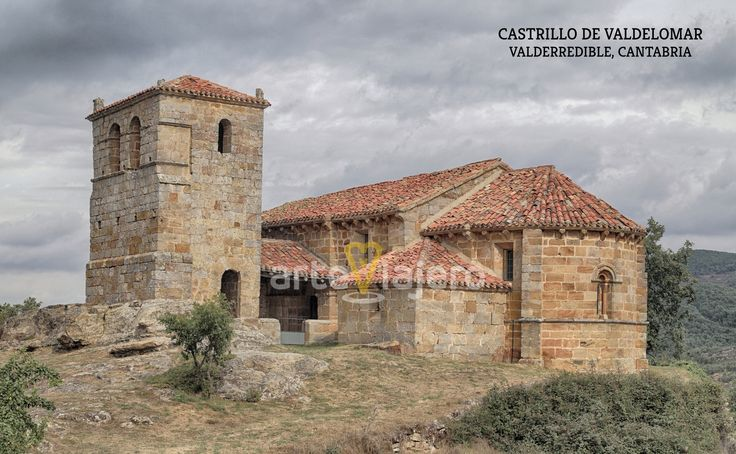 Castrillo de Valdelomar, municipio de Valderredible, Cantabria. Iglesia de Santa Leocadia, estilo románico