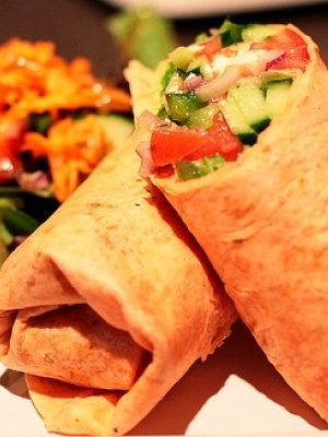 Greek salad wrap...For more ideas for school lunches visit http://school-lunch-ideas.net