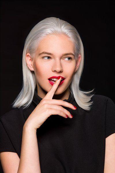 collection automne/hiver collection2015 #cheveux #coiffure #grey #slickhair