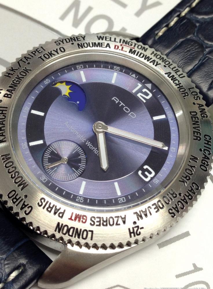 Atop WWS serisi, gerçek #deri #kayış Online satın almak için: www.atoptimezone.com Mağazalar için: www.atoptimezone.com/Satis-Noktalari #saat #watches