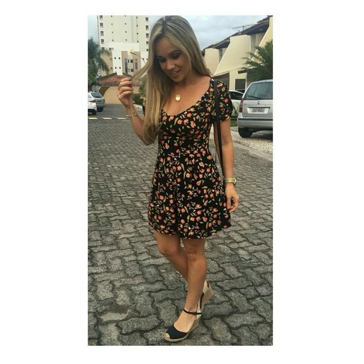 #dress #flowered