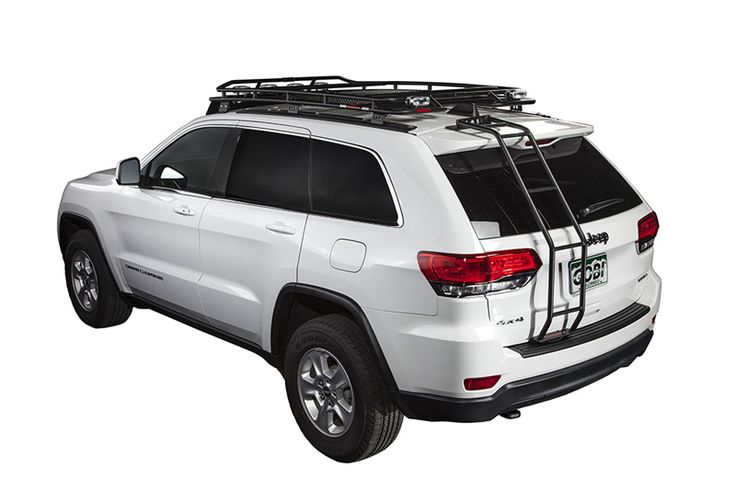 Gobi Jeep Grand Cherokee WK2 Stealth Roof Rack - 2011-14 - GJGC2STL - Jeep Grand Cherokee WK Gobi Roof Racks