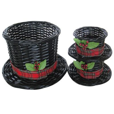 Just Add Cheer | Michaels Store wicker top hat baskets... sir topham hat!