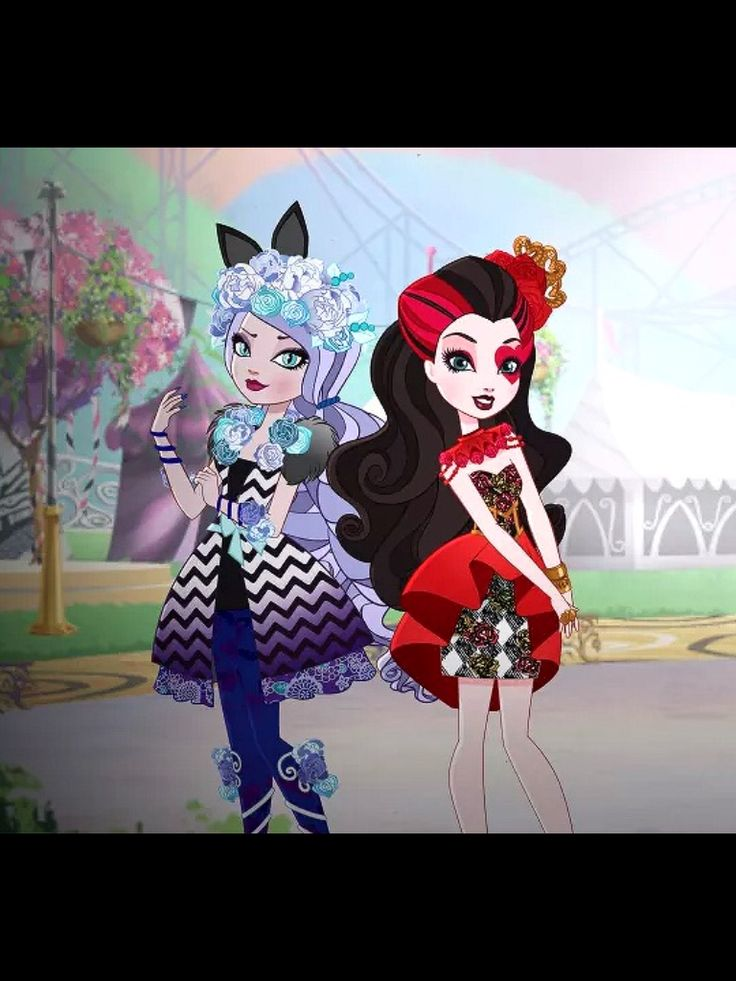 Ever After High Spring Unsprung Kitty and Lizzie