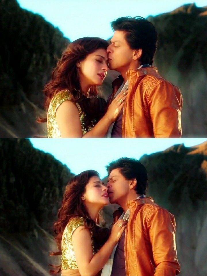 Shah Rukh Khan and Kajol - Gerua Song Dilwale (2015)