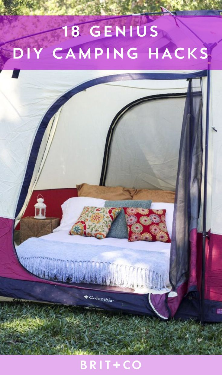 17 best ideas about camping tent decorations on pinterest for Glamping ideas diy