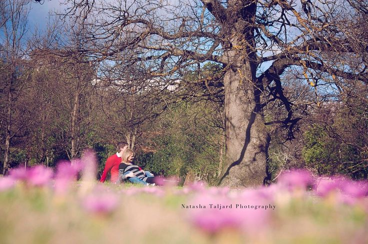 Maternity shoot, spring, flowers, clouds.