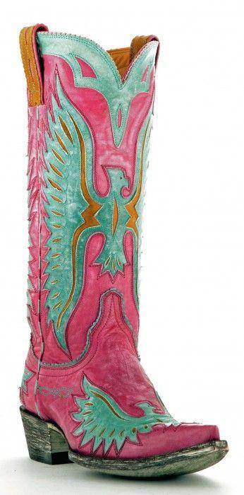 Old Gringo Eagle cowboy boots