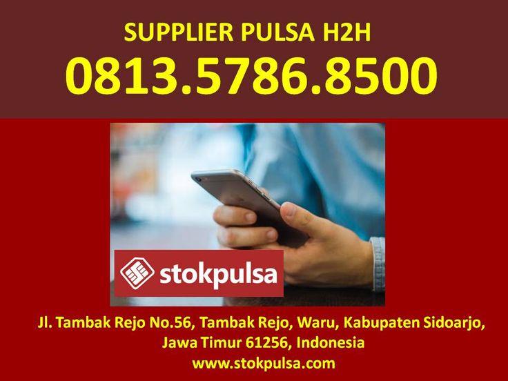 Distributor Pulsa H2h All Operator Murah Surabaya Sidoarjo Gresik