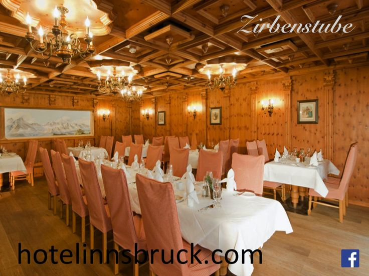 Zirbenstube im Hotel Innsbruck/ Restaurant at Hotel Innsbruck