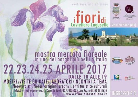 Mostra mercato floreale a Castellaro Lagusello  http://www.panesalamina.com/2017/54842-mostra-mercato-floreale-a-castellaro-lagusello.html