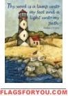 Lighthouse Inspiration Garden Flag