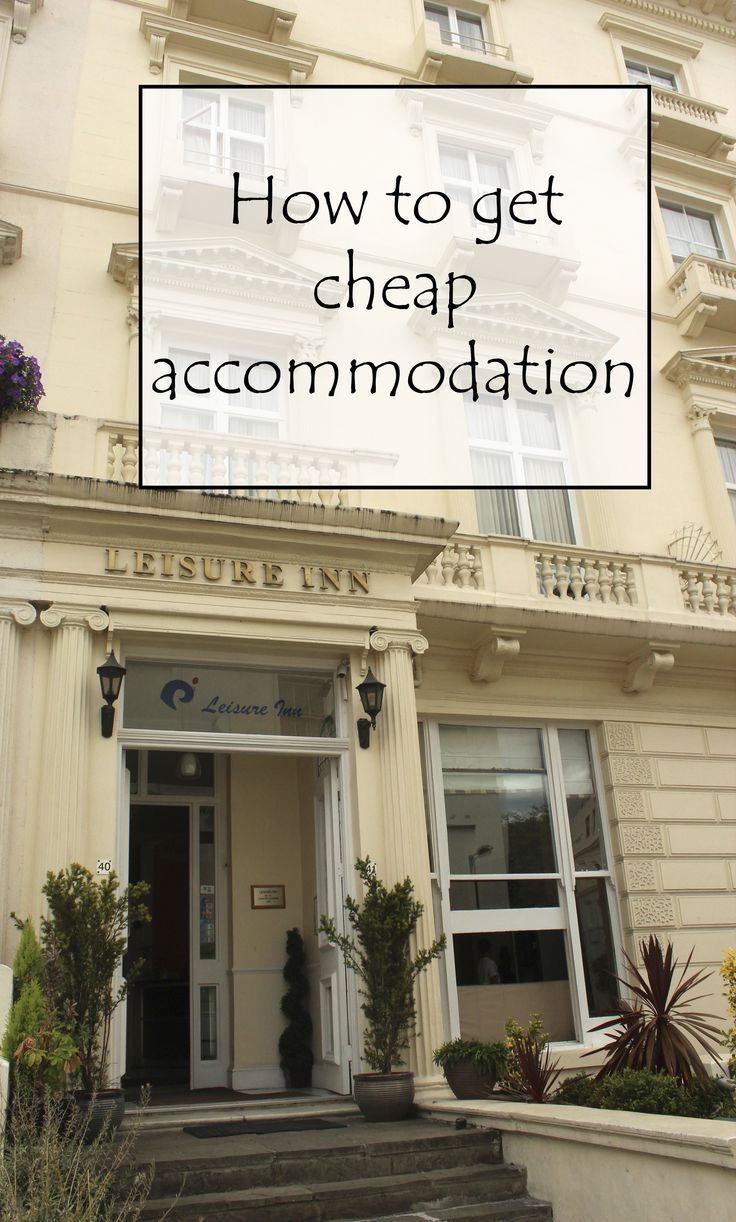 The secrets behind getting cheap accommodation! http://aworldofbackpacking.com/how-to-get-cheap-accommodation/