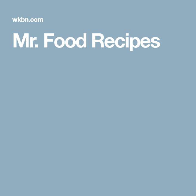 Mr. Food Recipes