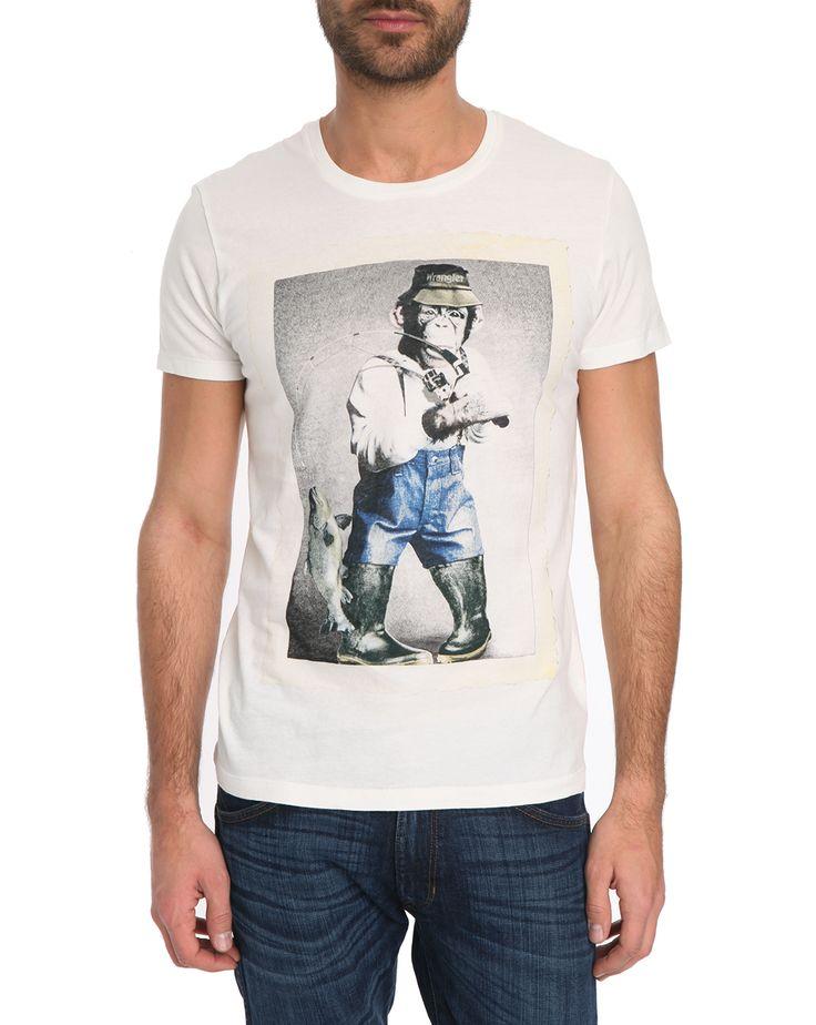 Tshirt blanc Monkey