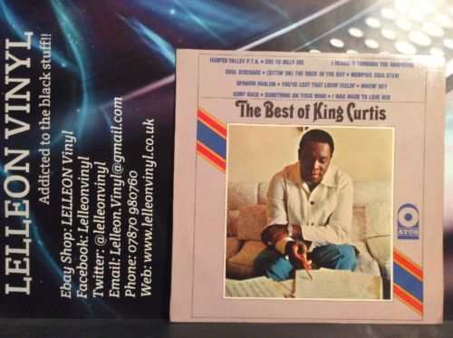 The Best Of King Curtis LP Vinyl Album Rare ATCO Press 228002 A2/B1 1968 Jazz Music:Records:Albums/ LPs:Jazz:Other Jazz