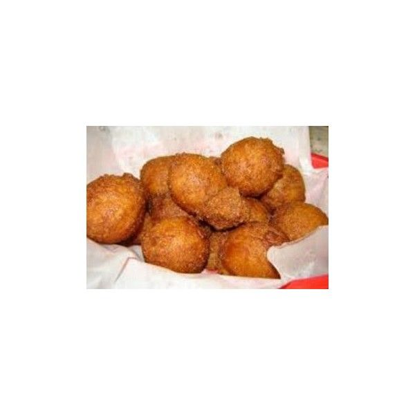 Hushpuppy Recipe and History ❤ liked on Polyvore featuring home and kitchen & dining