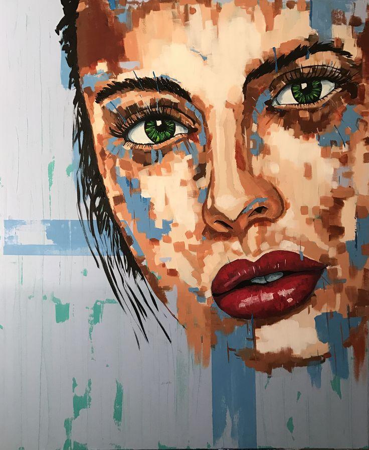 Acrylic on canvas, 120x100 by Ronald Hofman