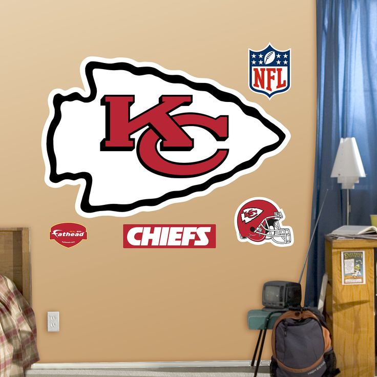 Best Chiefs Man Cave Decor Images On Pinterest Man Cave - Sporting kc wall decals