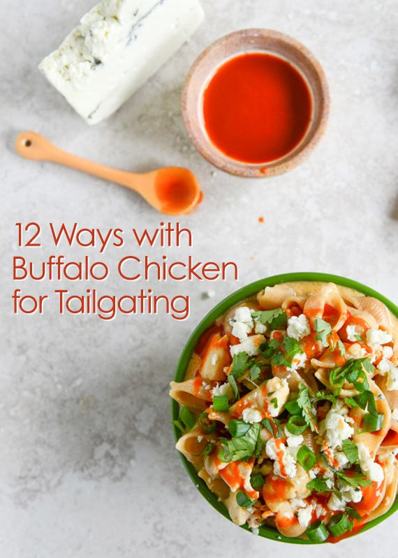 Enjoy #buffalochicken in a whole new way with #blogger recipes that cover #pasta, #potatoes, #pizzas and more!