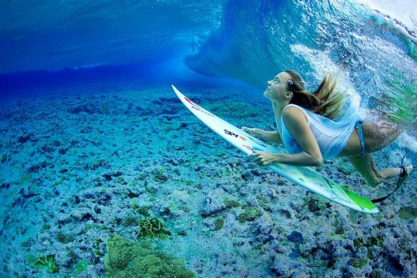 Yep, for sure a mermaid - Alana Blanchard
