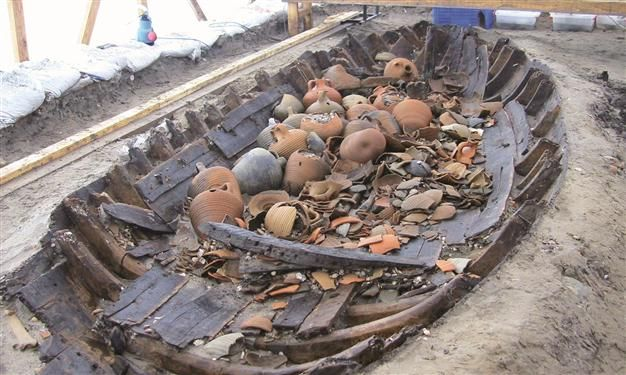 The conservation process of 37 sunken ships discovered during the Istanbul Marmaray excavations and removed from the area over eight years is nearing completion.