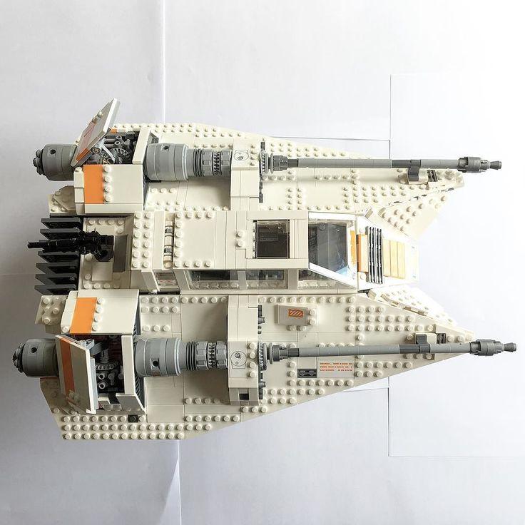 It's done.. #lego #snowspeeder #legosnowspeeder #starwars #starwarslego #disney #buildingtime #75144 #moretocome