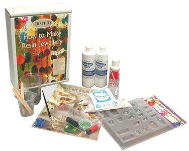 How to Make Resin Jewellery Kit....hmmmm