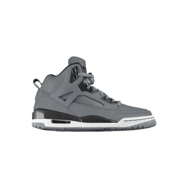 Nike Jordan Spizike iD Custom Women's Basketball Shoes - Grey, 10 ($210) ❤ liked on Polyvore