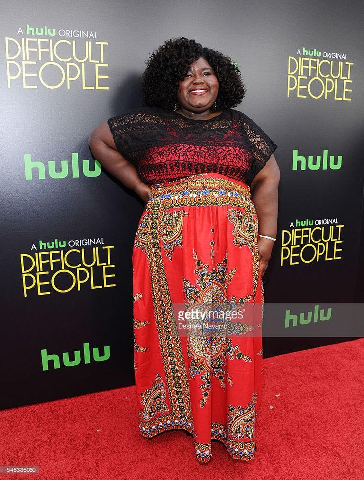 Photo d'actualité : Actress Gabourey Sidibe attends 'Difficult...