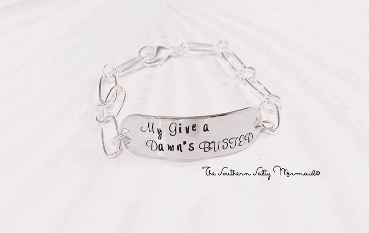 My Give a Dam's Busted Lyric Inspired Jodee Messina Bracelet by TheLyricalMermaid on Etsy