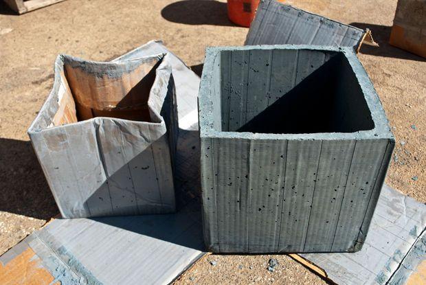 Diy Concrete Planter Box Manualidades En Cemento 400 x 300