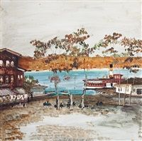 The Bosphorus by Necdet Kalay
