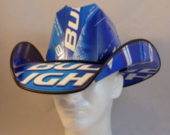 Beer Box Cowboy Hats. Made from recycled Bud Light beer boxes. Beerhat. & 25+ unique Beer box hat ideas on Pinterest | Beer supply store ... Aboutintivar.Com