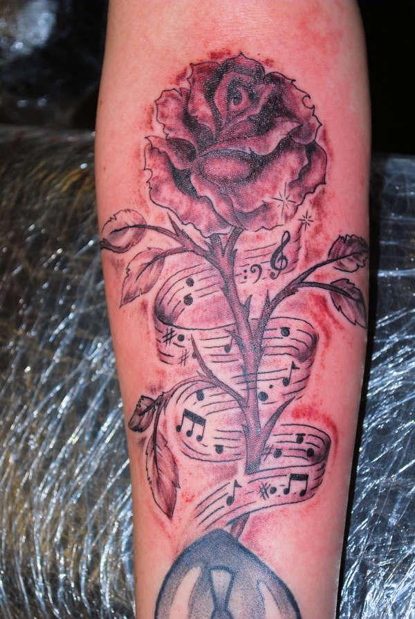 121 best images about tattoos on pinterest music symbols for Feminine music tattoos