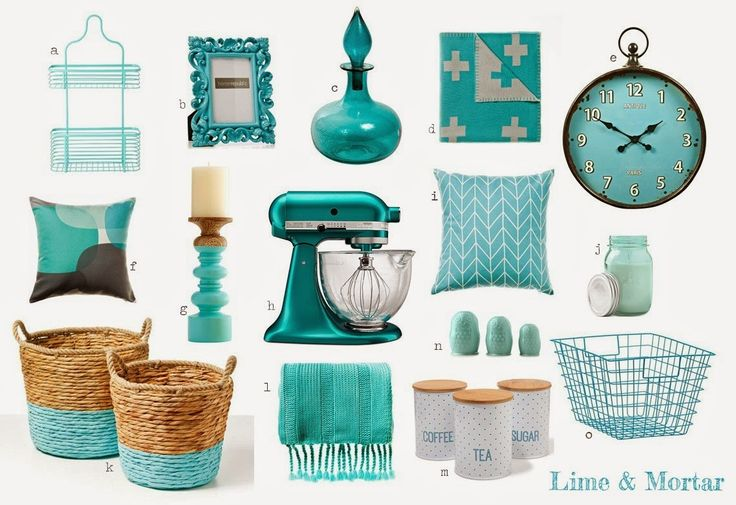 Lime & Mortar: Aqua Colour Pop