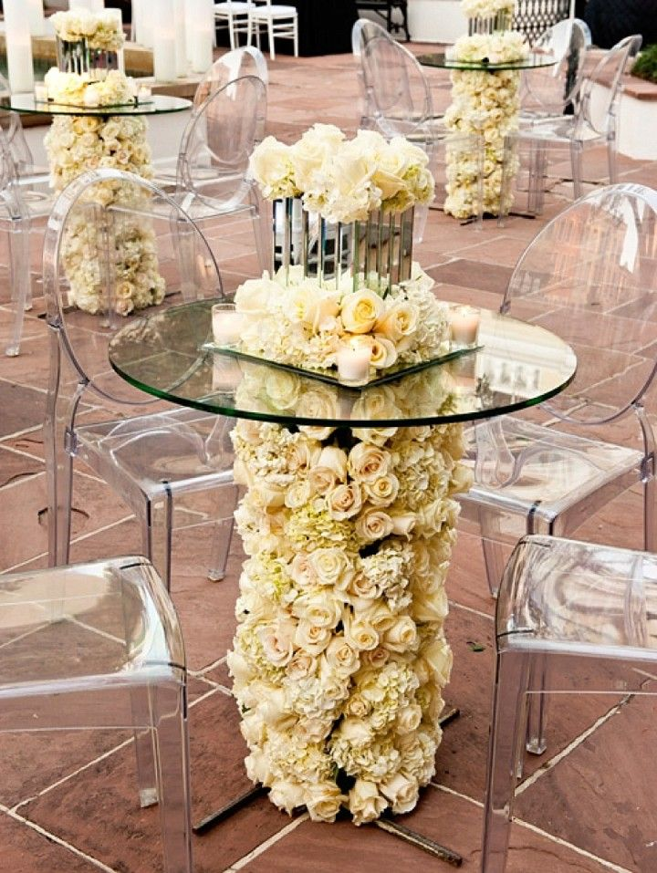 Ultra Luxe New Orleans Wedding from Sapphire Events - wedding centerpiece idea