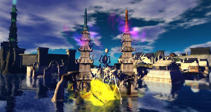 https://flic.kr/p/G1qtqN | Fantasy Faire 2016 - Sapphire Mirror Lake
