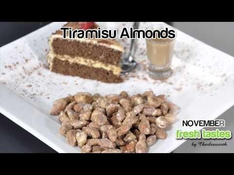 Tiramisu Almonds - Charlesworth Nuts' November Fresh Taste Product