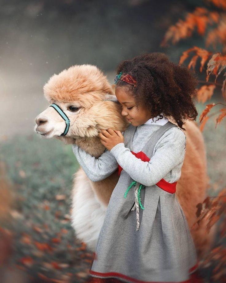 Картинки дети с животными милые, здоровья