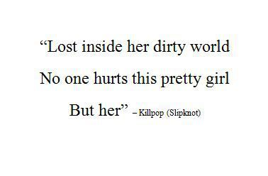 slipknot killpop lyrics | daddys-little-girl-wants-to-die