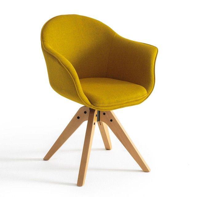 fauteuil de bureau rotatif quilda