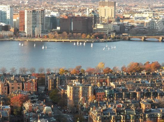 Boston´s view, via @TripadvisorEs