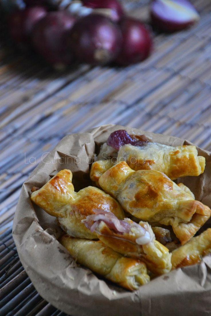 La Cucina di Stagione: Caramelle integrali con cipolle rosse caramellate e cuore fondente