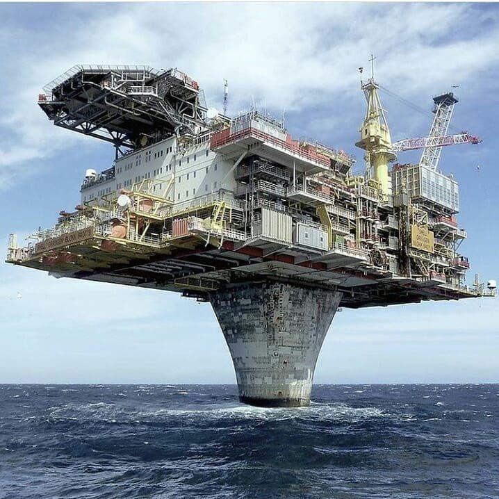 Norwegian Oil Platform  : EngineeringPorn | Offshore in 2019