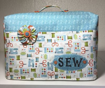 Sewing Machine Cover.                                                                                                                                                     More