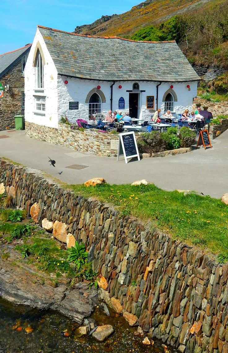 Boscastle, Cornwall, England, UK