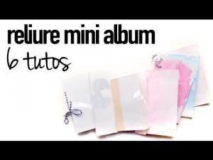 Vidéo : TUTO 6 Différentes reliures pour faire un mini album • Hellocoton.fr